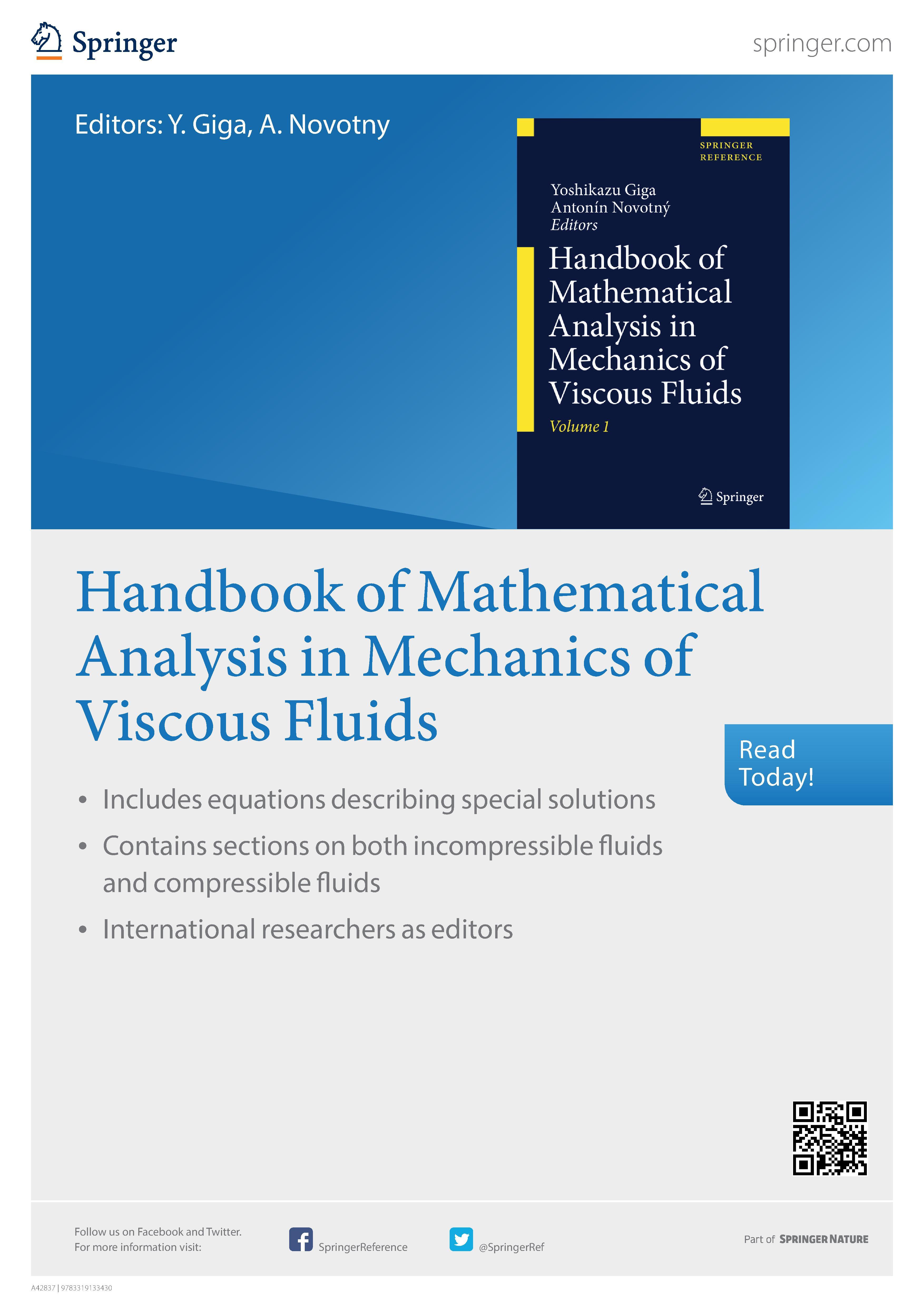 Handbook of Mathematical Analysis in Mechanics of Viscous Fluids